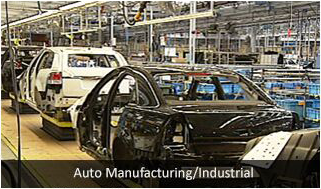 auto manufacturing or industrial