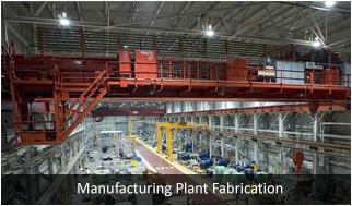 manufacturing plant fabrication